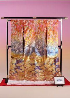 枝垂桜松川菱紋